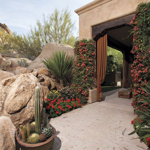 Home Garden Landscaping Ideas: 135 Best Southwest Gardening/Landscape/Patios Images On