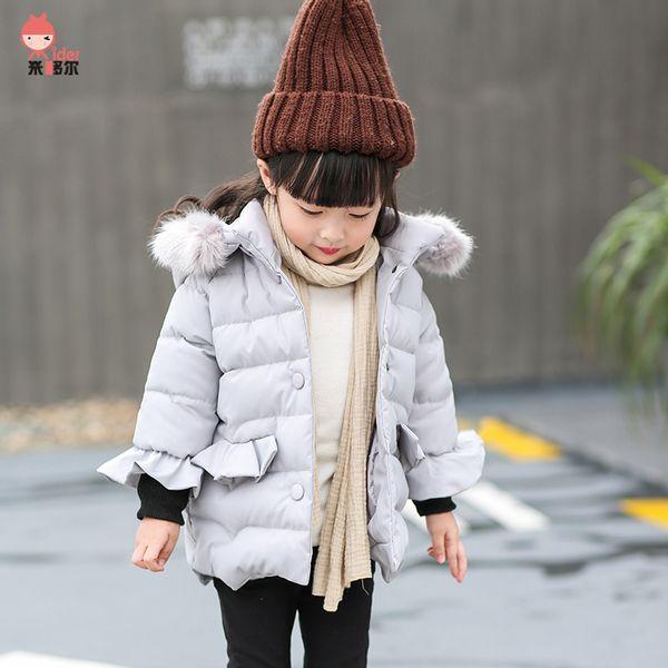 Детские куртки осень-зима из Китая :: Девушки зимние пальто куртки долго пуховик 1 2 утолщение ребенка в новый хлопка мягкий куртка 3 ребенка девушки зимняя одежда 4.