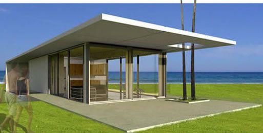 A dreamy tuba studio for sure logicalhomes prefab for Modular beach cottages