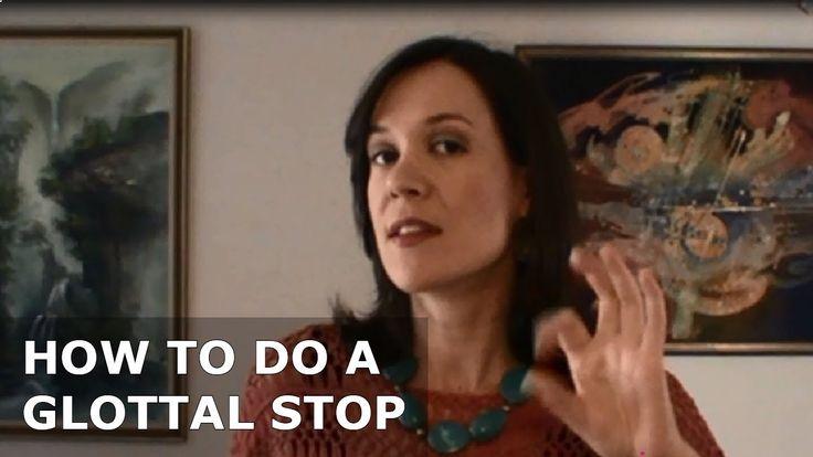 How to do a glottal stop for singing - www.singerssecret.com #singing #howtosing #singingtips