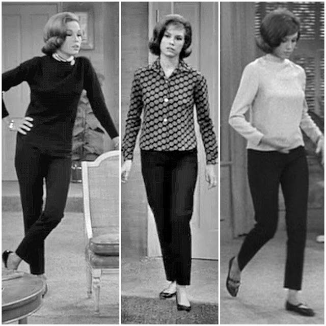 am in love with laura petrie's style (mary tyler moore on the dick van dyke show).  so classic and easy!
