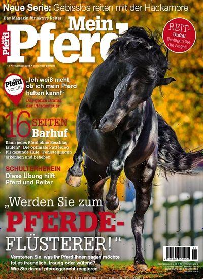 Werden Sie zum Pferde-Flüsterer. Gefunden in: Mein Pferd - epaper, Nr. 11/2015