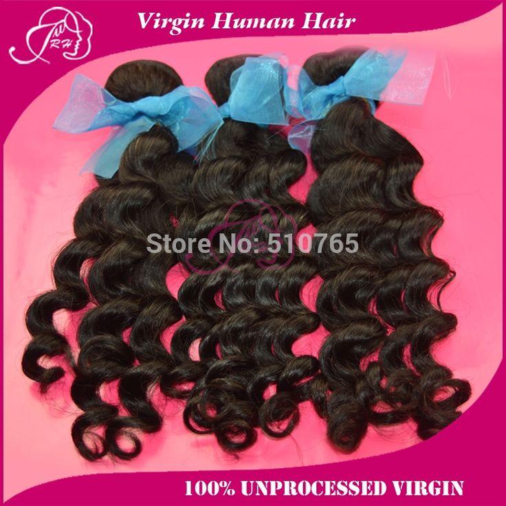 (85.00$)  Watch here  - brazilian virgin hair loose curly 3 or 4 pcs lot 100% human hair weaves 6A hair products brazilian loose curly free shipping