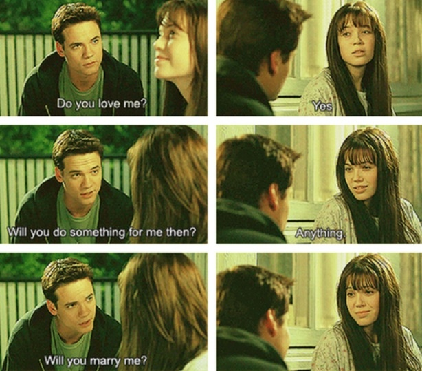 ❤️A walk to remember. Perfect proposal in my opinion