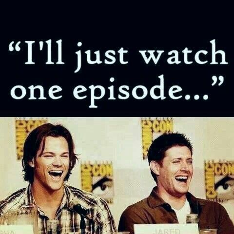 SupernaturaL {* 9 years later.. StiLL watching..!*} and never want to stop