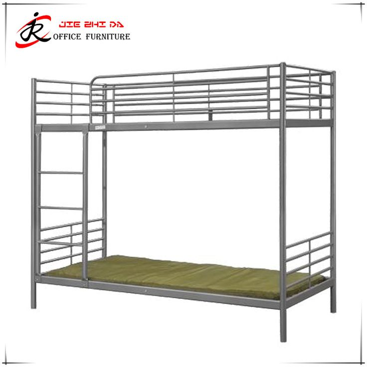 Hot Sale Adjustable Height Metal Bed Frame Cheap Price Dormitory Bunk Beds