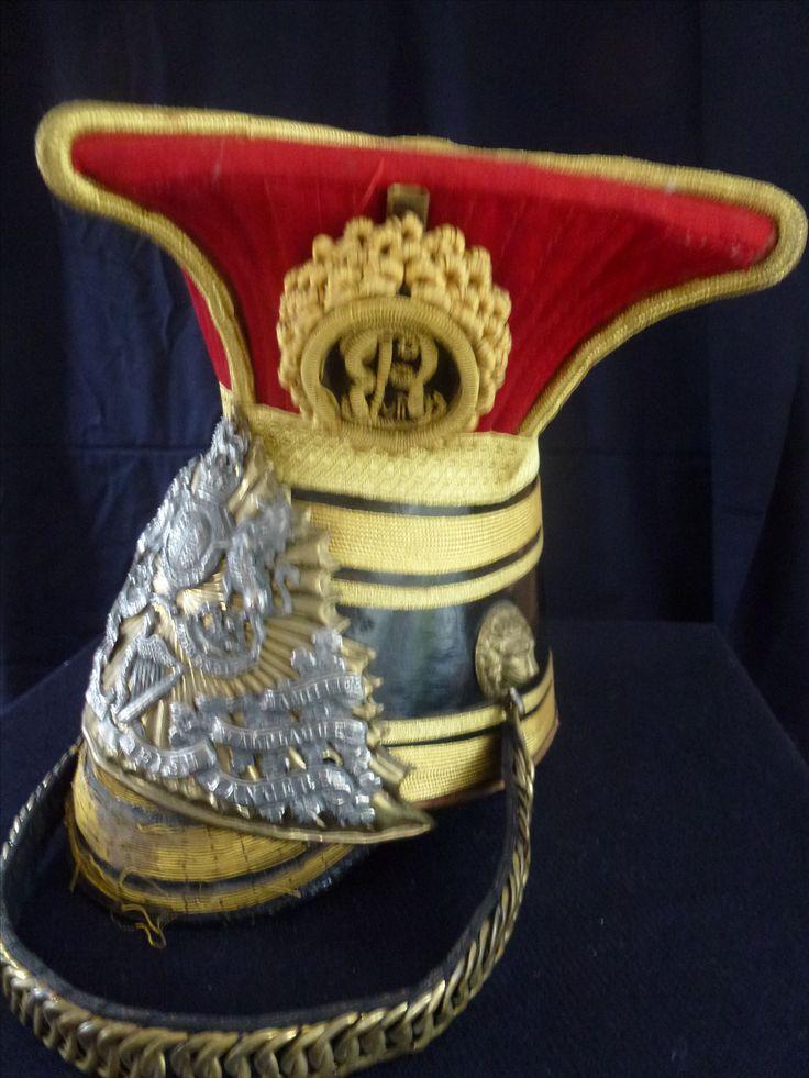 Officers Lancers helmet Edwardian period