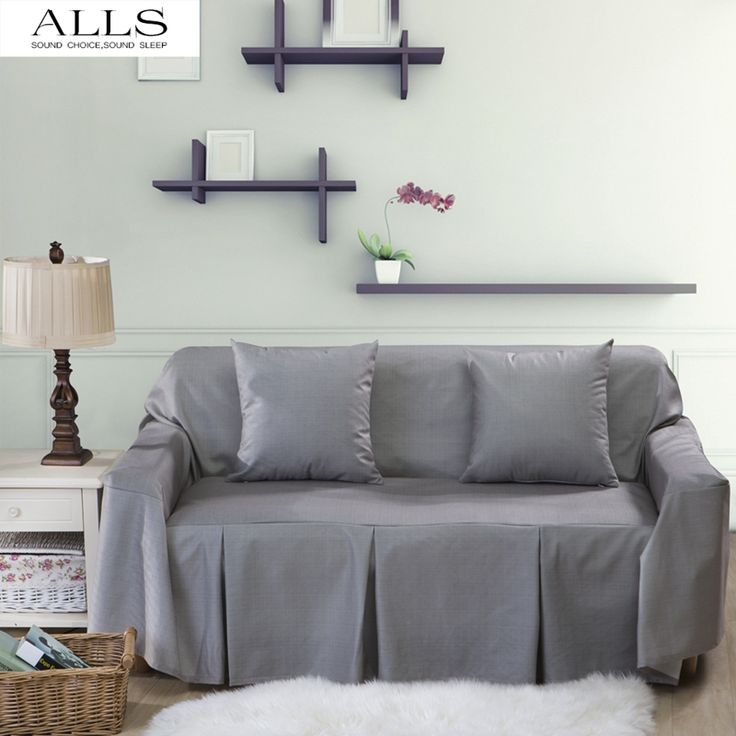 Slipcovers For Sofas l shaped sofa cover for home grey blue sofa slipcover couch cover fundas armrest u Maison Pinterest Sofa slipcovers Sofa covers and Gray