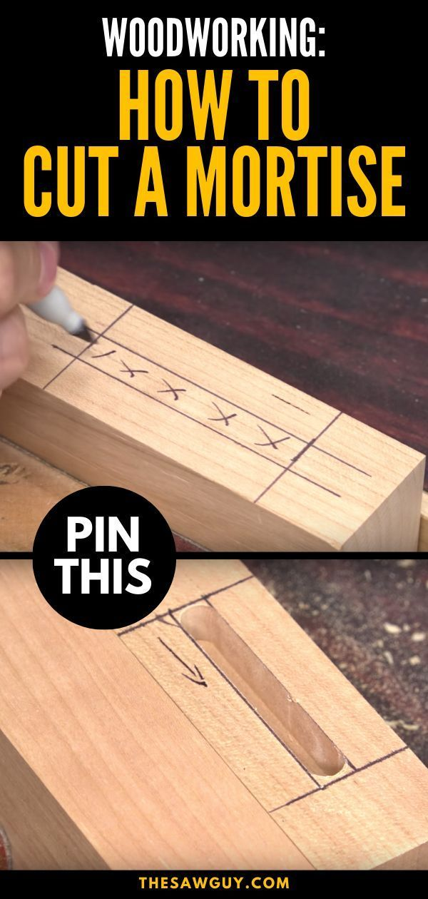 Getting Started With Carpentry The Mortise And Tenon Joint Is A Woodworking Staple And You Can Create O In 2020 Mortise And Tenon Carpentry Basics Woodworking Joints