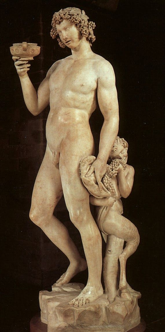 Charles Fonseca: Baco ébrio. Michelangelo. Escultura