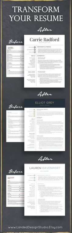 stand out from your competition with a unique resume template combined with tips from our get landed resume writing guide