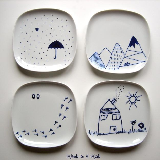 Las 25 mejores ideas sobre tazas pintadas con rotulador en for Como pintar jarrones de ceramica