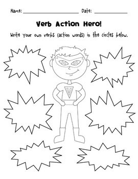 Action Verbs $