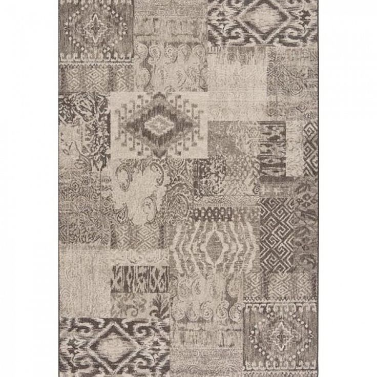 Modern pattern Italian cream colour rug Capri II by Sitap