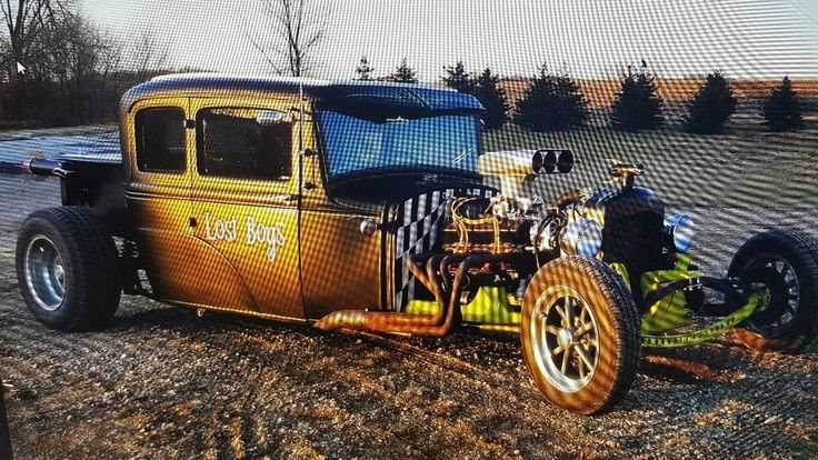 1931 Ford Model A Street Rod Hot Rod Coupe