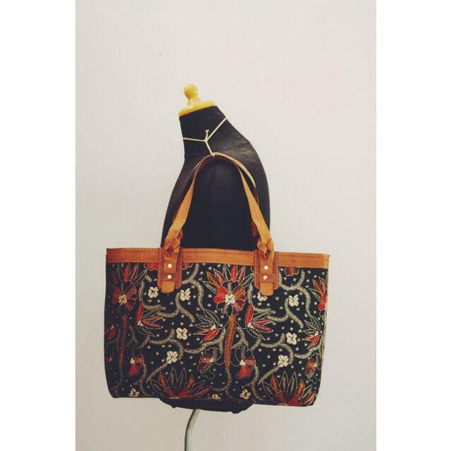 15 % for this Anjani Tote Batik Bag     #djokdjabatik #sale