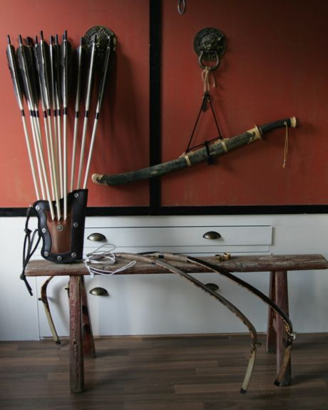 Bow cases and quivers of the Qing | Fe Doro - Manchu archery