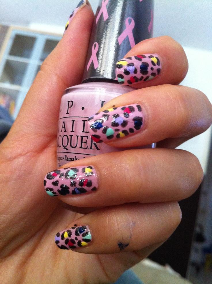 #Sephora #nailspotting: Nails Art, Cheetahs Nails, Nails Hairs Etc Etc, Hot Nails, Rainbows Cheetahs, Sephora Nailspot, Nails Nails Nails, Color Leopards, Rainbows Leopards