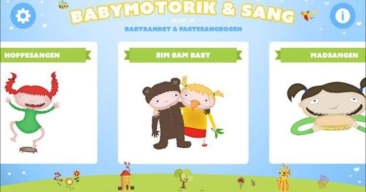 Babymotorik & Sang er en app, der indeholder 12 musikvideoer med  sange, fagter og motoriktræning (to af videoerne er gratis). Sangene er udviklet af Babybandet og Fagtesangbogen. Motorikøvelserne er udviklet af en motorikekspert. De 12 sange repræsenterer en hel dag i babys liv med mad, afslapning, lur, leg osv. Fine små afsnit og gode og sjove sange Tekster på skærmen guider dig til, hvad du skal gøre