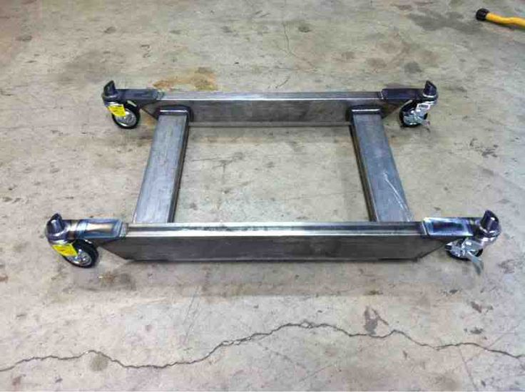 Welded Bandsaw Mobile Base By ZTFab