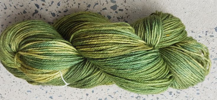 Hand dyed merino silk fingering yarn by RidgetopFibreStudio on Etsy