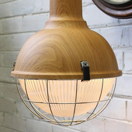 Industrial Dane Pendant Light - Fat Shack Vintage   Milan Direct