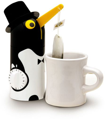 I LOVE penguins! This is the cutest tea bag timer for that perfect brew!