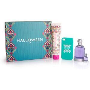 Regálate este chulísimo estuche que incluye: #fragancia Halloween 100 ml + body lotion 100 ml + miniatura 4 ml para el bolso + funda para iPhone ¿A que te encanta?