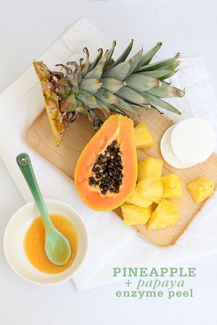 Pineapple & papaya enzyme peel