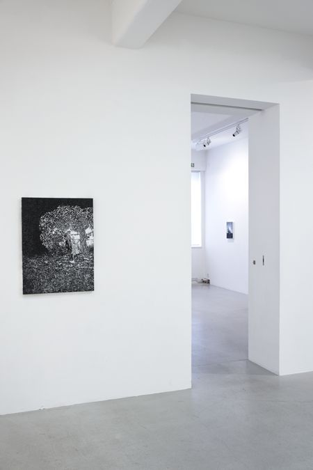 Viktor Rosdahl - Exhibition room I_left to room II