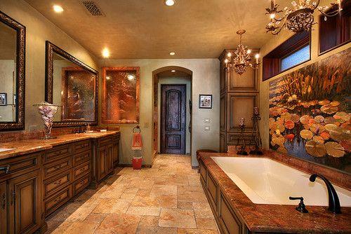 TumblrDreams H0Me, Bathroom Brilliance, Future House, Dreams House, Beautiful Bathroom, Beautiful Inside, Home Decor, Tuscan Home, Tuscan Style