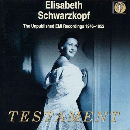 Elisabeth Schwarzkopf: The Unpulblished EMI Recordings, 1946-1952 [CD]