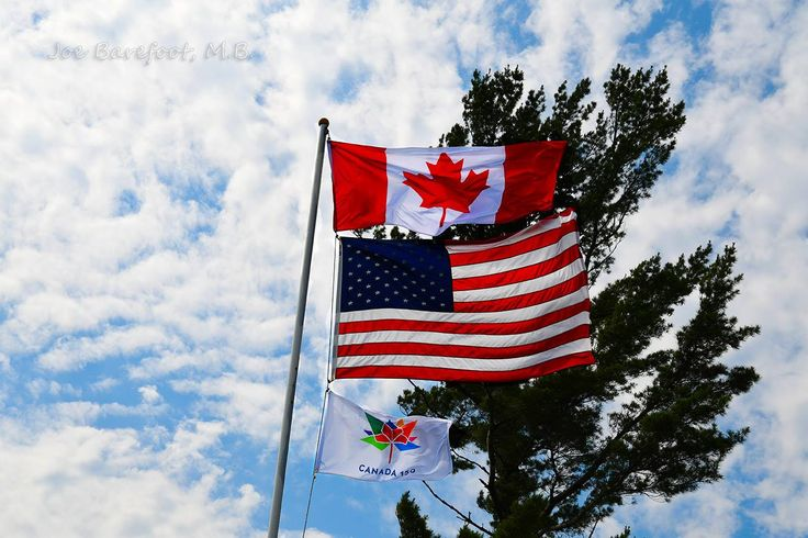 Happy 150th Birthday Canada! Join us on the French River for celebrating Canada Day!