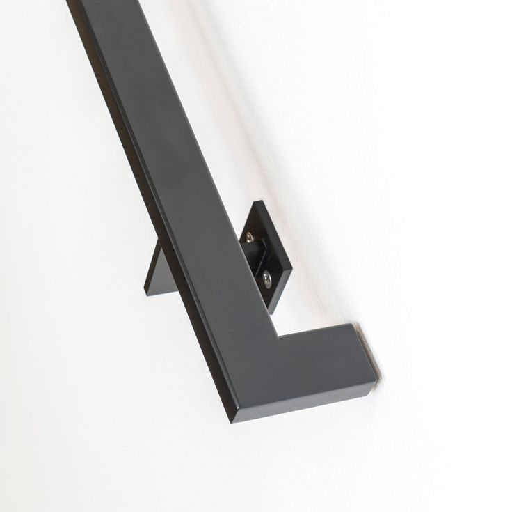 14' Modern Handrail (5 brackets) - Tube Steel hand rail ...