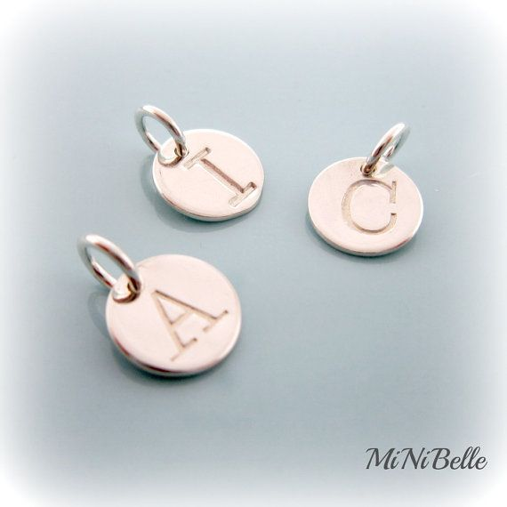 Initial Charm. Personalized Initial Charm. Sterling by MiNiBelle, $8.00. CA