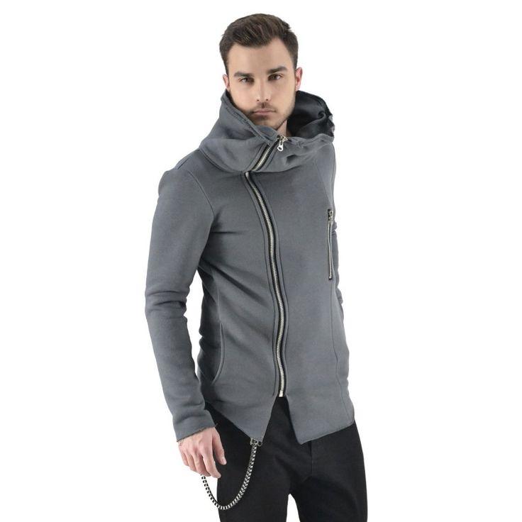 bluza ŻYRAFA szara zapinana, reykjavik district - polscy projektanci / polish fashion designers - ELSKA