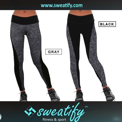 Sweatify Plus Size Gym Workout Fitness & Yoga Leggings for Women
