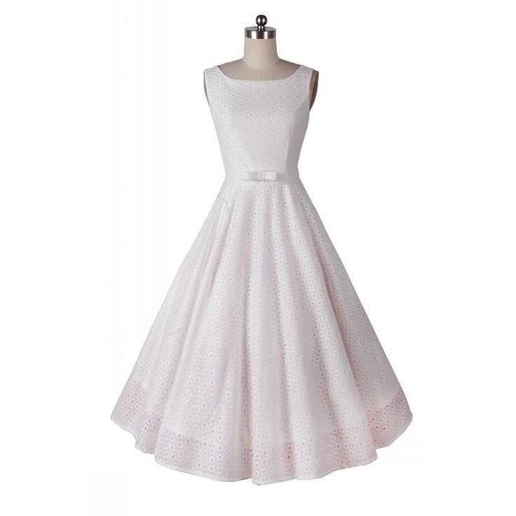 Ucuz Bayan Şık 50 s Vintage Pinup Retro Audrey Hepburn Tığ Beyaz Dantel Slim Gömme Streç Örgün Parti Kokteyl Elbise Salıncak, Satın Kalite elbiseler doğrudan Çin Tedarikçilerden:           ürün bilgisi- Ürün Adı/dantel elbise- makale numarası/cw1603014- kumaş/75% spandex cotton+20