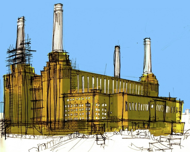 Battersea Power Station by Tom Stevens