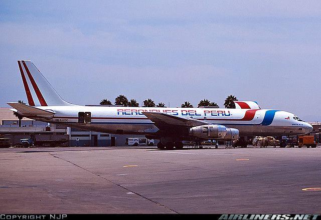 Douglas DC-8-55(F) aircraft picture