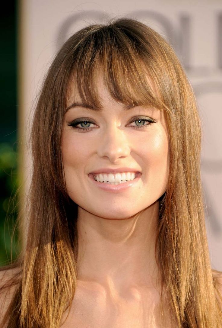 Square Face Bangs Hairstyle 64 Best Images About Hair For Square Face On Pinterest