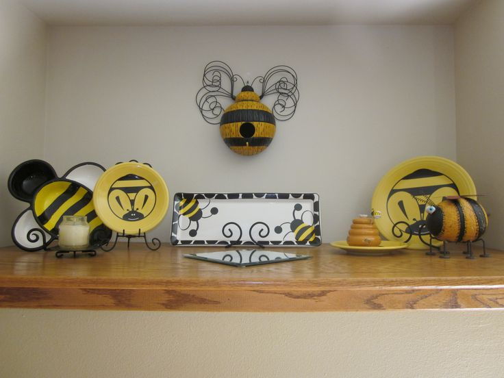 Bumble Bee Kitchen Decor