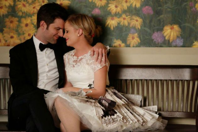 leslie knope & ben wyatt...perfect couple, perfect wedding