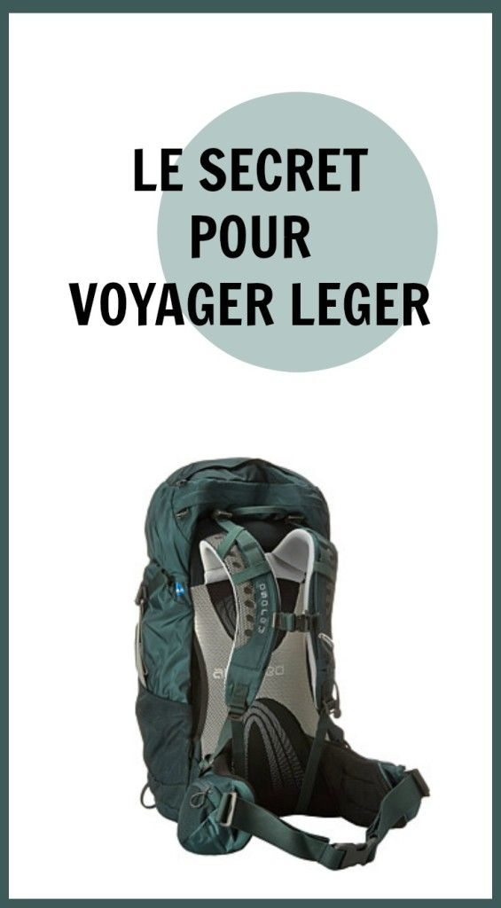 The Path She Took | Le secret pour voyager léger | http://www.thepathshetook.com
