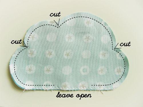 Cloud pillow (TUTO)