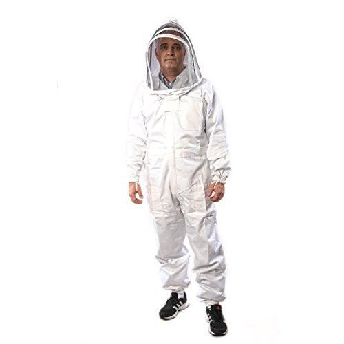 Professional Grade Bee Suits, Complete Bee Keeper Suit With Gloves - Large Size