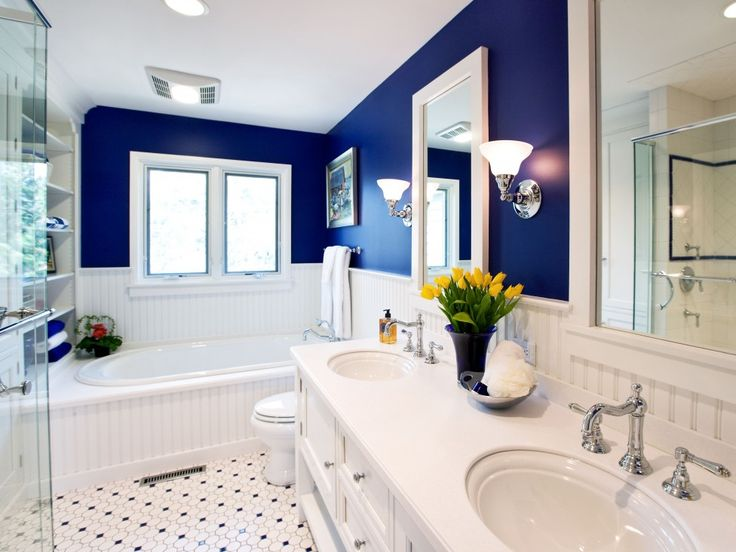 Yellow Tile Bathroom Decorating Ideas 29 best cool blue interior design ideas images on pinterest | blue