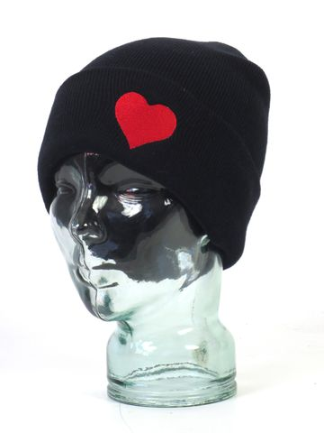 Show your Love!  Embroidered heart toque from Make Vancouver.