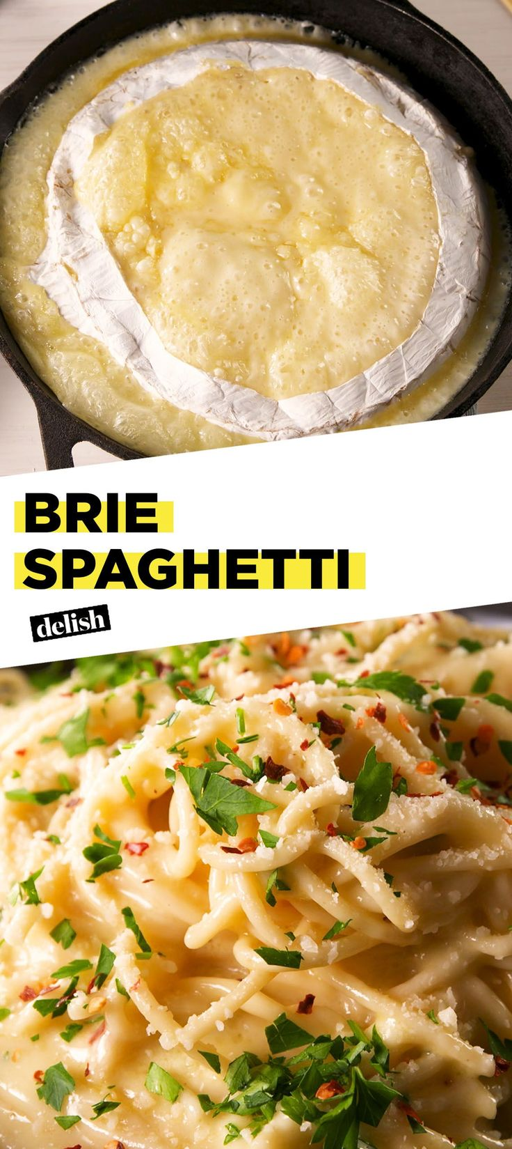 This Brie Hack Will Change The Way You Eat Spaghetti ForeverDelish