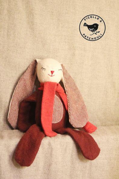 Un kit pour coudre un doudou bio à la maison facilement - Le plaisir de faire soi-même ! #Doudou #bio #biotifuldoudou #madeinfrance #diy #ficelleetpatchouli